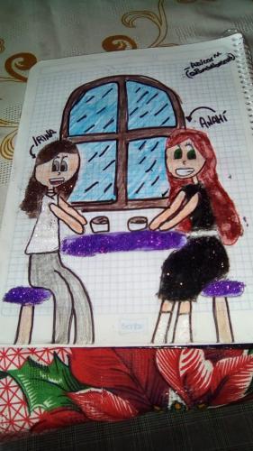 Anahí e Irina (Purgatorio), por Pamela